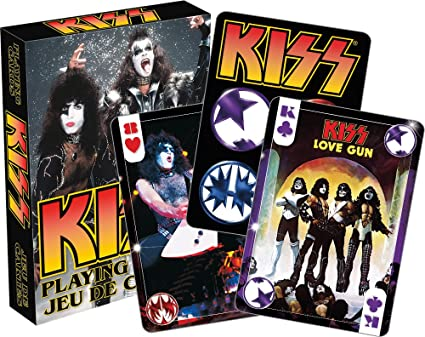 DYNASTY Playing Cards in Tin Gift Box KISS