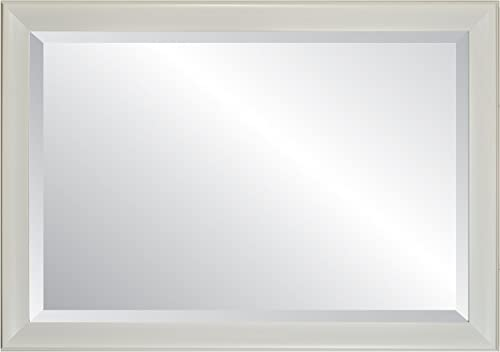Alpine Mirror Art White Concept 27 Wall Mirror