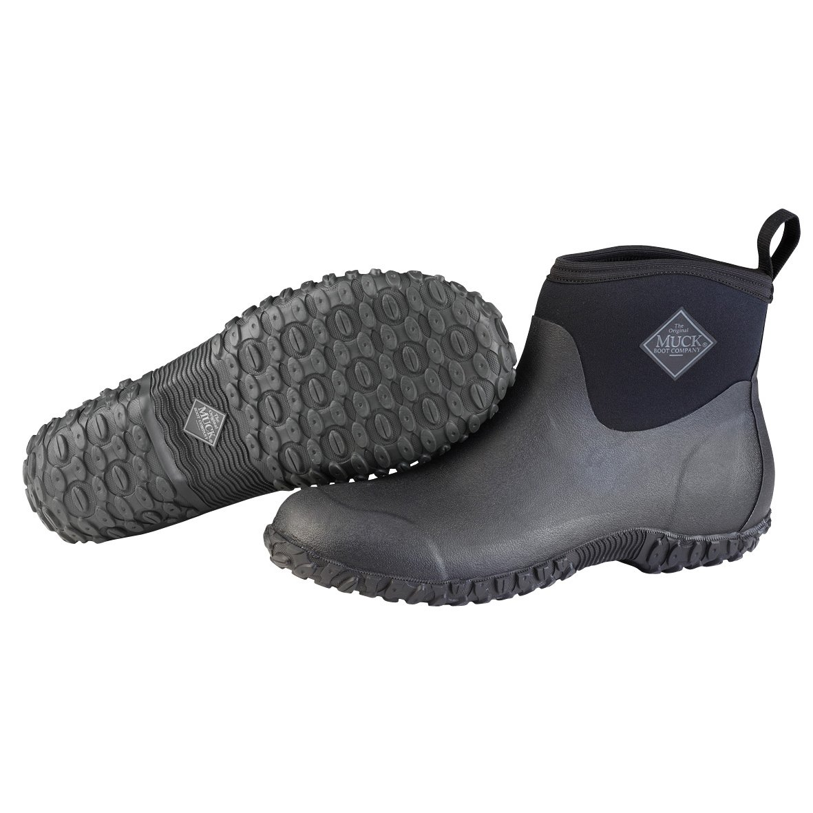 Muckster ll Ankle-Height Men's Rubber Garden Boots,Black,7 M US