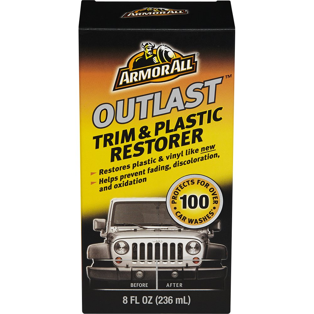 Armor All Outlast Trim & Plastic Restorer 8 oz (2 Pack)