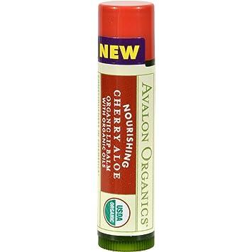 Avalon Organic Botanicals Nourishing Cherry Aloe Organic Lip Balm, 0.15 Oz, 2 Pack Reviva Labs, Firming Eye Serum, 1 fl oz (pack of 6)