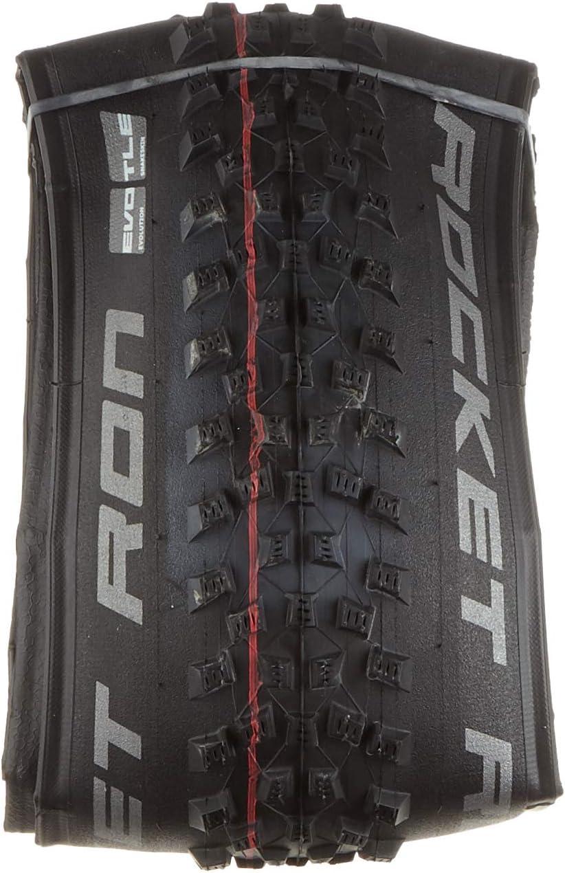Cicli Bonin Schwalbe Rocket Ron Addix Speed TL Easy Snakeskin Neumáticos, Unisex, Negro, Talla única