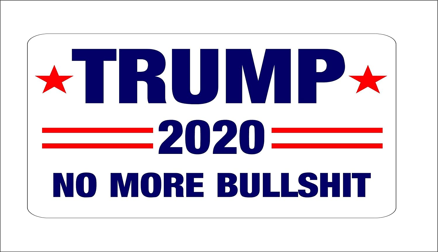 4PCS* HELMET TRUMP STICKER MADE IN THE USA AMERICAN DECAL ELECTION POLITICAL