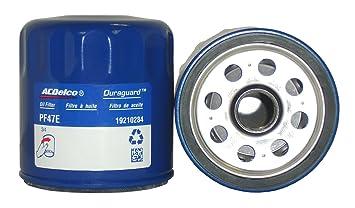 ACDelco pf47e profesional Motor Filtro de aceite