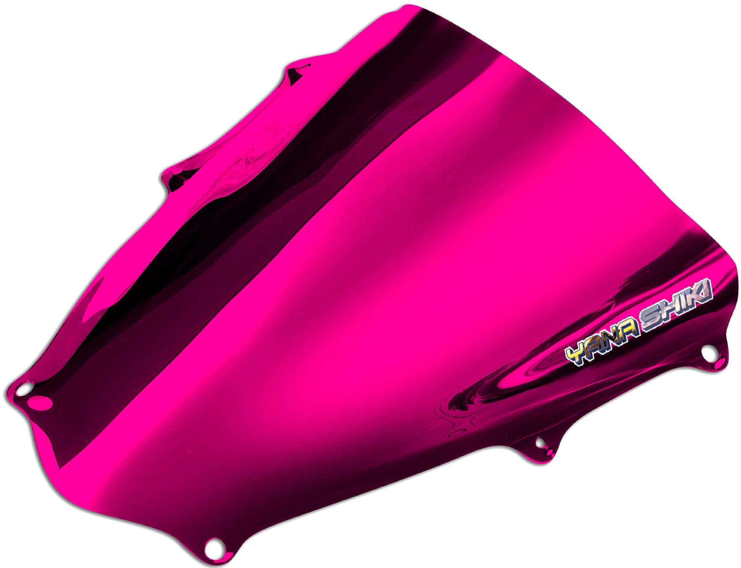 Yana Shiki SW-2012CRE R Series Chrome Red Windscreen for Suzuki GSX-R 1000