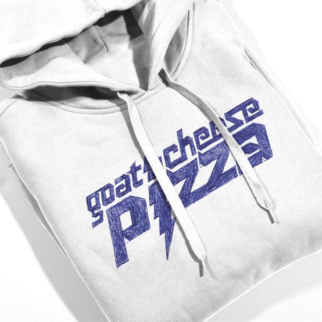 Comics Kingdom Zits Blue Goats Cheese Pizza Mens Hooded Sweatshirt