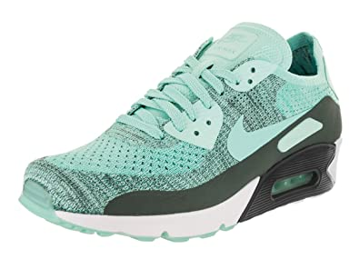 the best attitude 93447 c095d Nike AIR MAX 90 Ultra 2.0 Flyknit Hyper Turquoise Mens Running 875943 301
