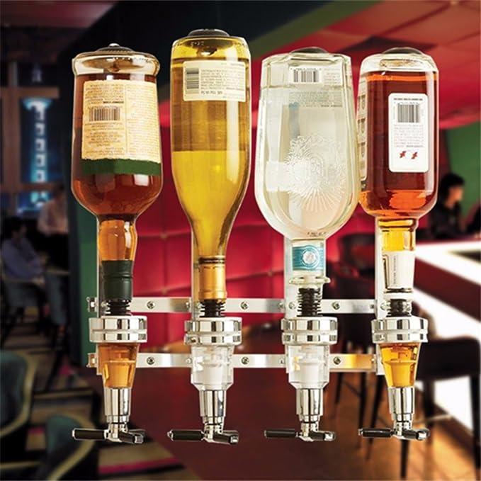 Bar Butler Wand montiert Weinalkohol Likör Cocktail Schuss Bierzapfanlage