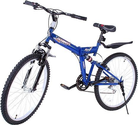 VEVOR Bicicleta MontañA Shimano De Acero Al Carbono MTB 26 ...