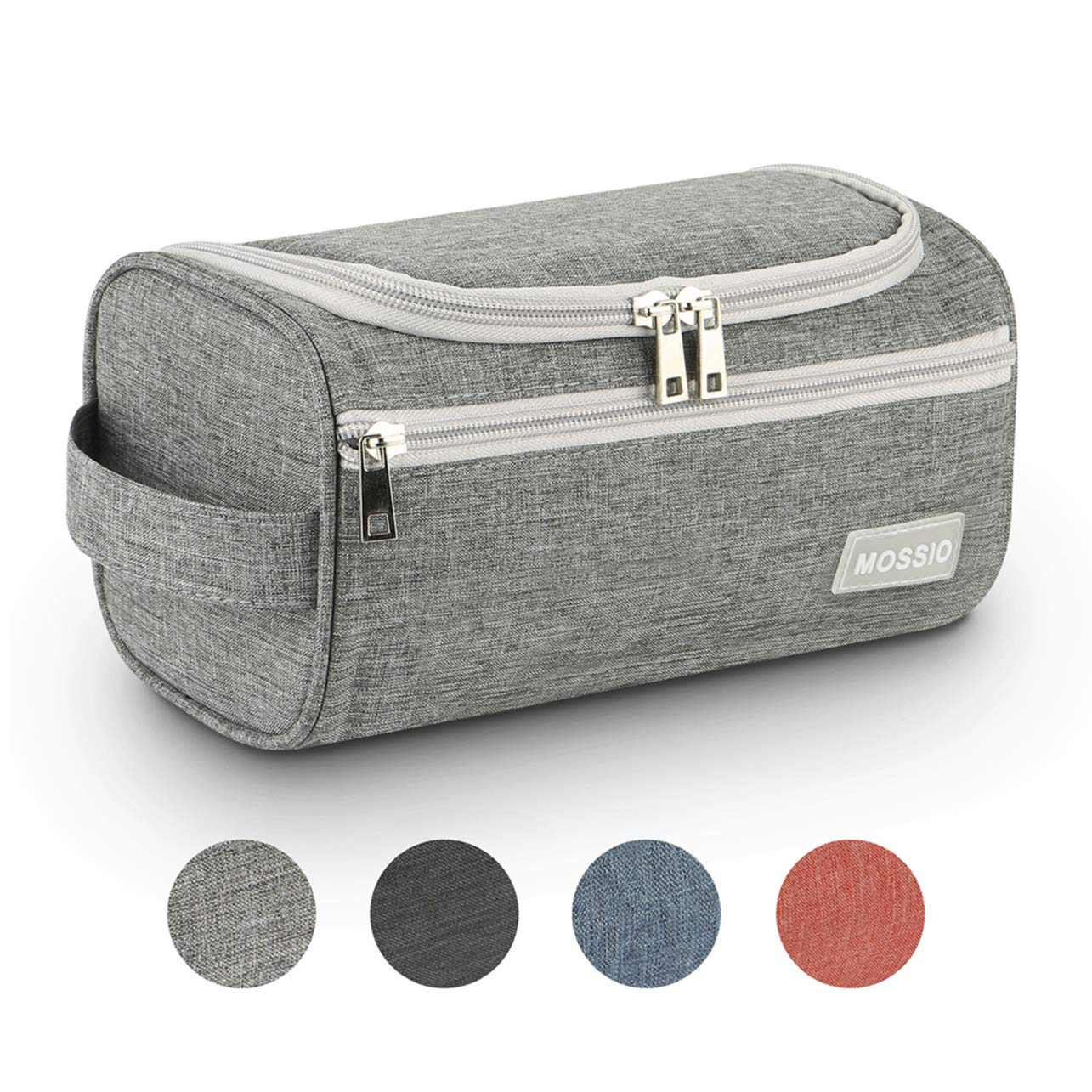 Mossio Hanging Toiletry Bag Large Compact Waterproof Cosmetic Travel Case Bathroom Shaving Kit