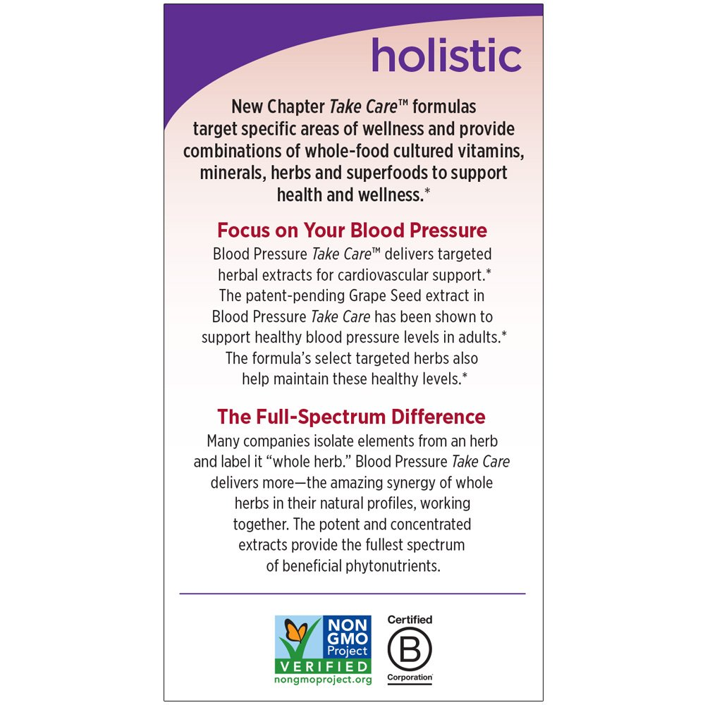 Amazon new chapter blood pressure supplement blood pressure amazon new chapter blood pressure supplement blood pressure take care with grapeseed black currant non gmo ingredients for blood pressure support geenschuldenfo Images