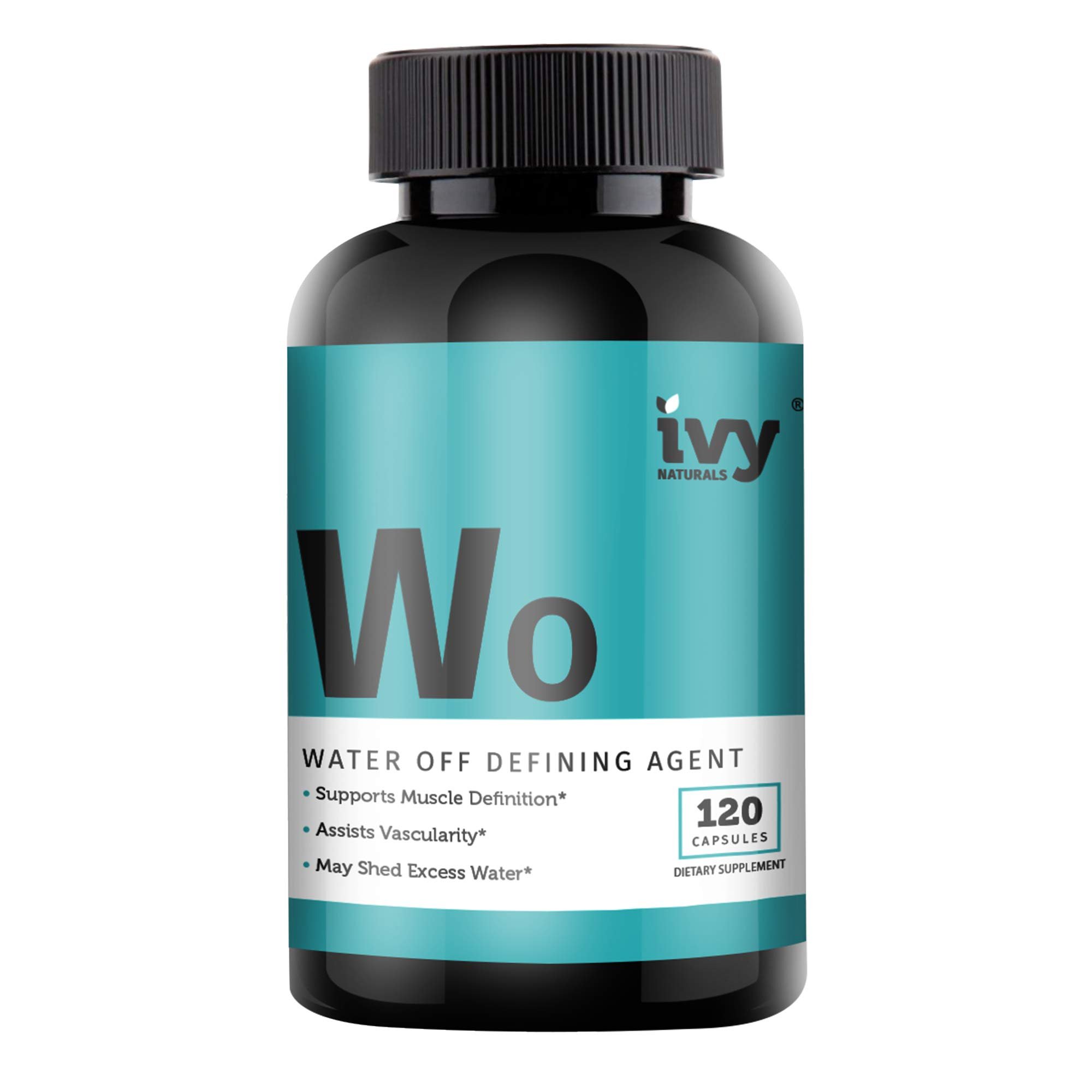Water Shed by Ivy Naturals    Natural Diuretic Supplement    Relieve Bloating & Lose Water Weight    Satisfaction Guaranteed by Ivy Naturals
