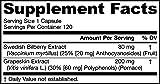 Jarrow Formulas Bilberry and Grapeskin