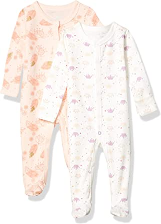 Rosie Pope Baby Girls 2 Pack Coveralls