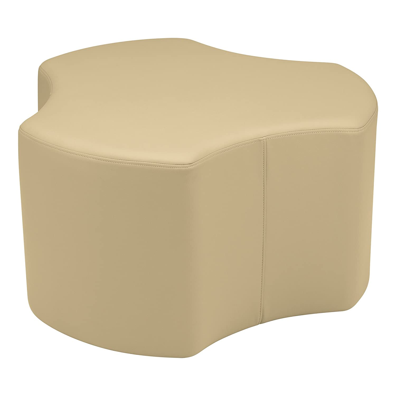 Sand 18  Sprogs Vinyl Soft Seating Gear Stool, 18  H, bluee, SPG-1015BL-A