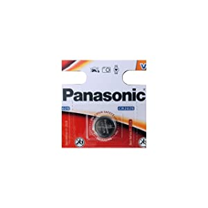 Panasonic CR2025 3V Lithium Coin Battery (Pack of 8)