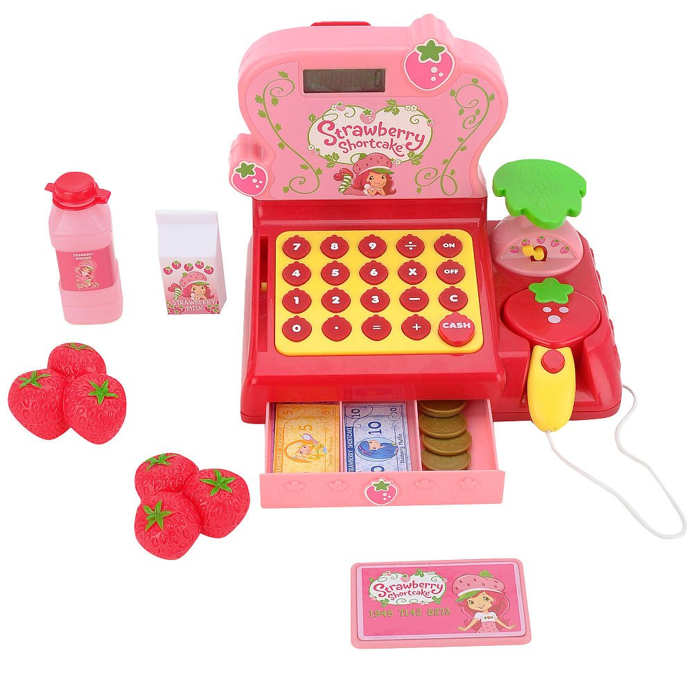 Strawberry Shortcake Cash Register by Unknown