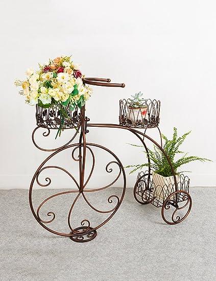 Racks de flores multiusos Plancha de hierro estilo flor ...