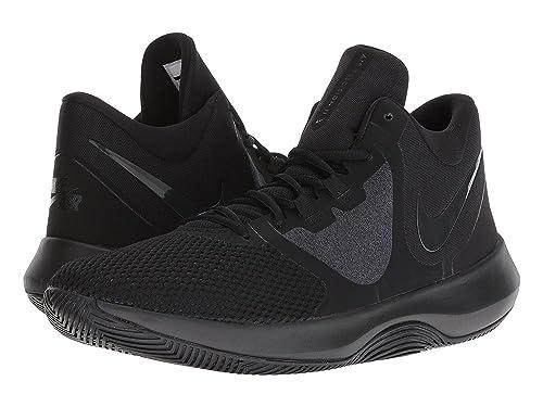 low priced 49542 0eef9 Nike Air Precision II - Zapatillas de Baloncesto para Hombre, Color Negro y  Gris,