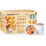 2017 Starbucks Thanksgiving Blend K Cups - 12 Count