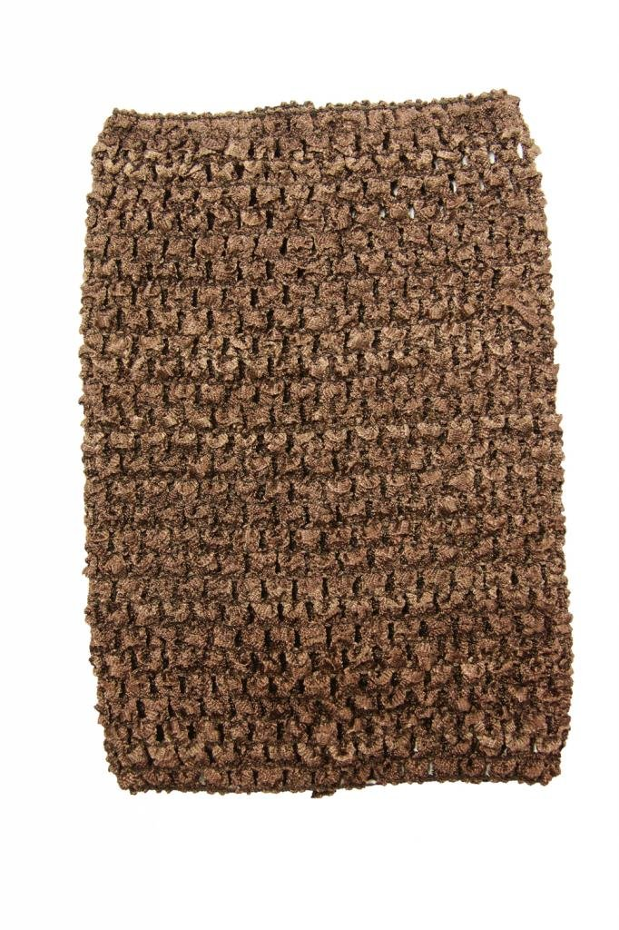 Dress Up Dreams Boutique Wholesale Princess 8 Inch Brown Crochet Top For Kids Sold Individually