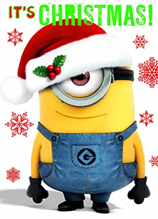 ceab8342386c0 Despicable Me DMX01 General Christmas Card  Amazon.co.uk  Office Products