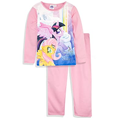 e088a80ce MyLittlePony Pajama Set T-Shirt with Long Sleeves and Pants (Pink, 3 Years