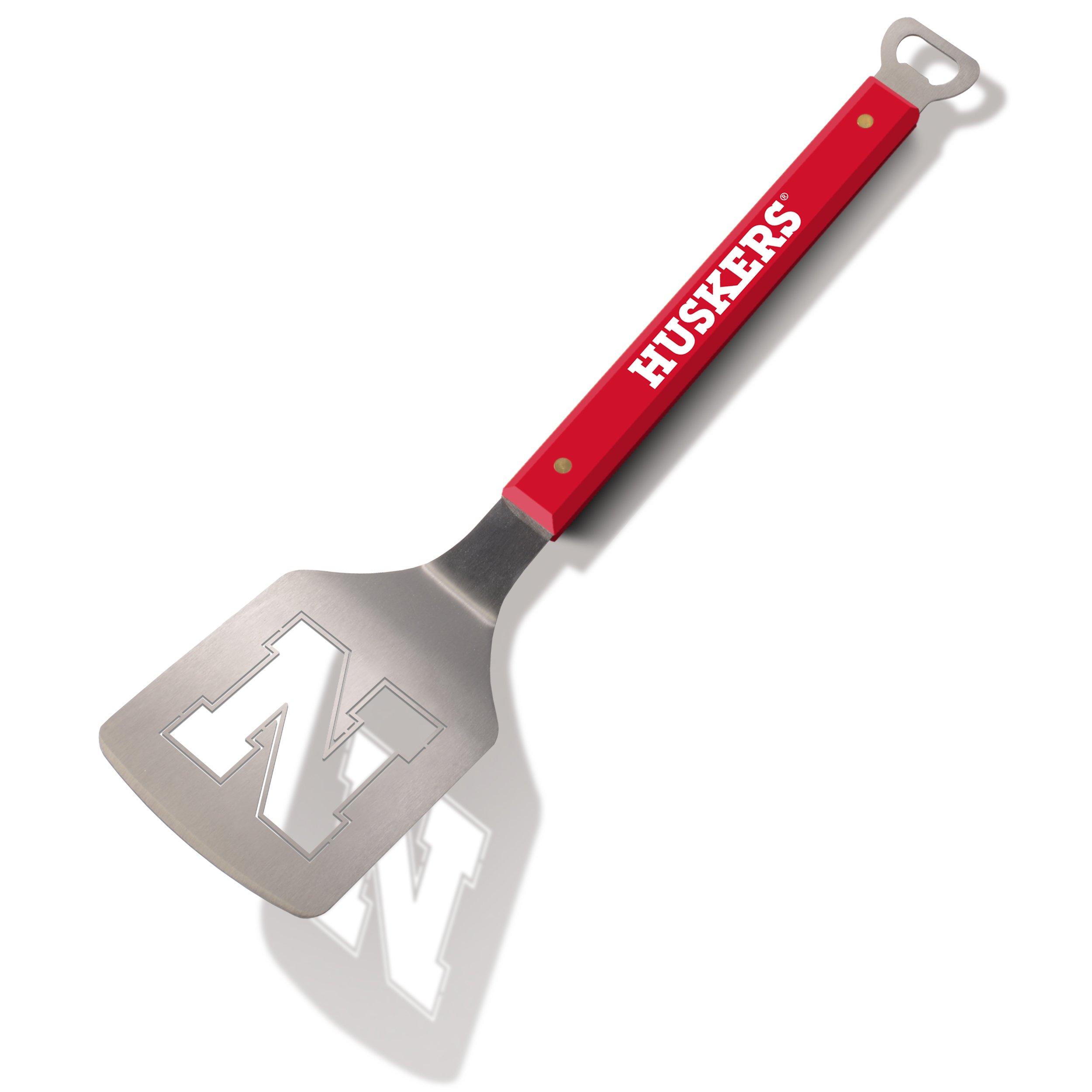 NCAA Nebraska Cornhuskers Spirit Series Sportula Stainless Steel Grilling Spatula
