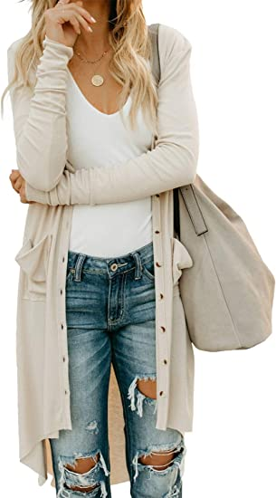 New Autumn Women/'s Casual Long Sleeve Cardigan Very Thin Sweater Coat Outwear