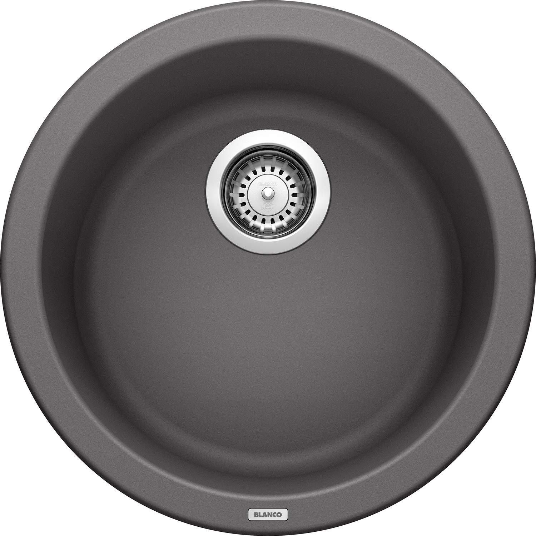 Blanco 518911 Rondo Bar Cinder Sink, 6.63 x 18.00 x 18.00 inches by BLANCO