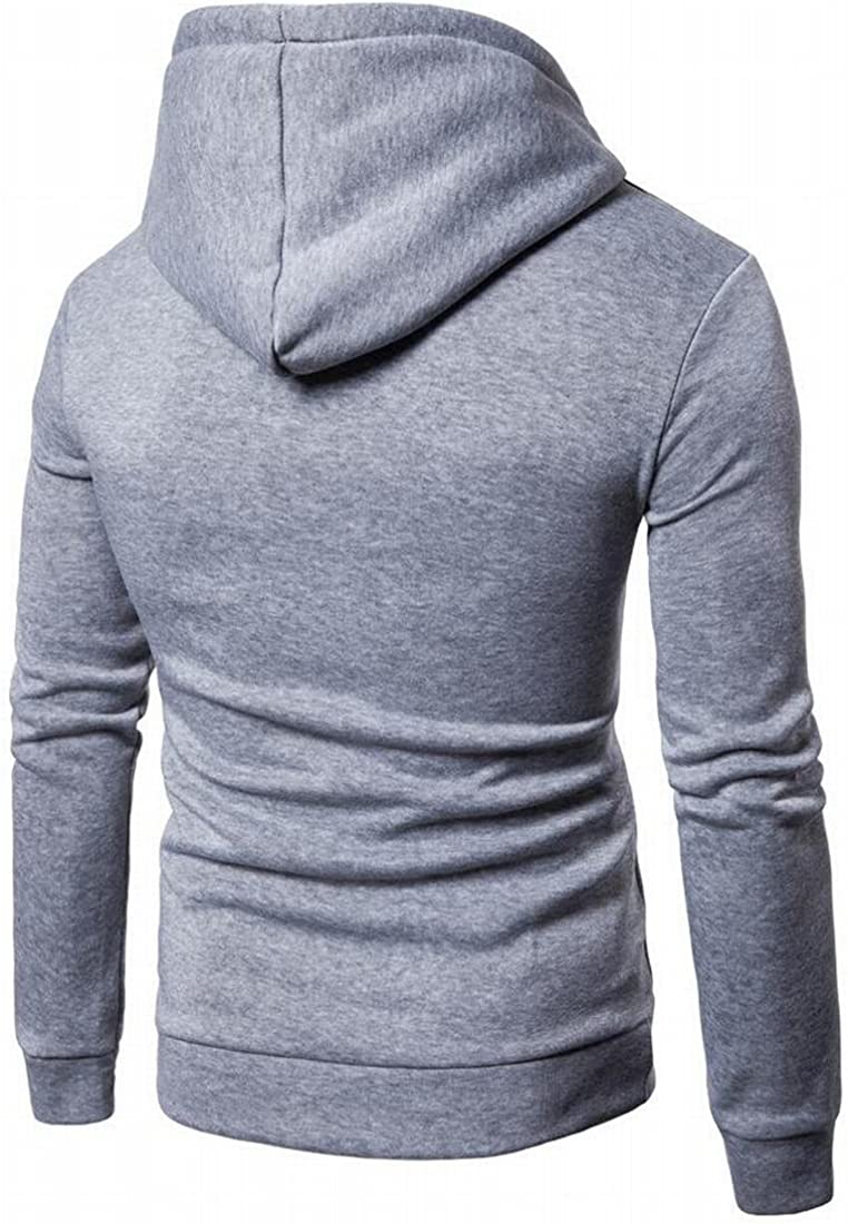 S-Fly Mens Athletic Printing Hoodies Workout Long Sleeve Pullover Sweatshirts