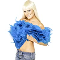 Deluxe Soft Feather Boa Scarf Bright Colours 1.5m
