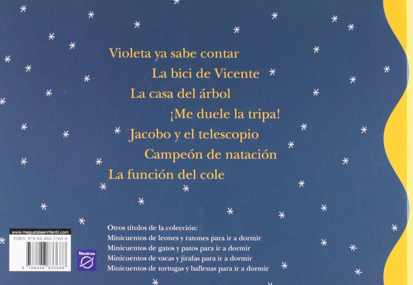 Minicuentos de vacas y jirafas para ir a dormir / Mini Bedtime stories of cows and giraffes (Spanish Edition): Magela Ronda, Blanca Bk: 9788448833688: ...