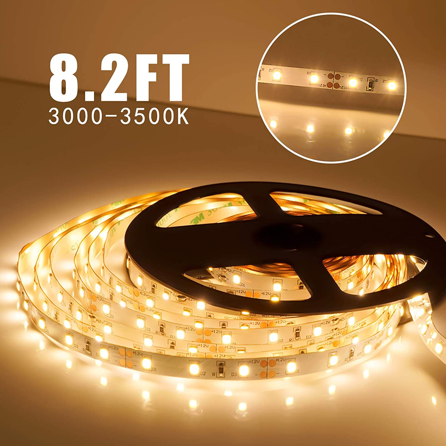 Moonlife99 Diy Flexible Led Strip Lights Pir Motion Sensor Activated Extending A Lighting Circuit Tips Projects Advice Uk Lets Under Cabinet Full Kit Bed For Kitchen Home Decorative