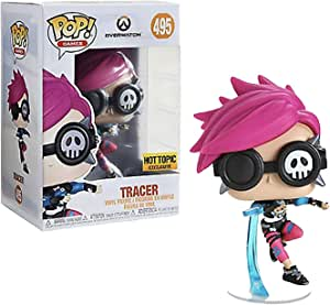 Funko FU38149 POP! Games #495 Overwatch: Tracer Punk Play Figure
