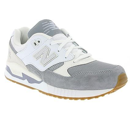 chaussures de séparation e2bef 6b482 New Balance M530 Ab Gumsole Blanche Et Grise Blanc 40 ...