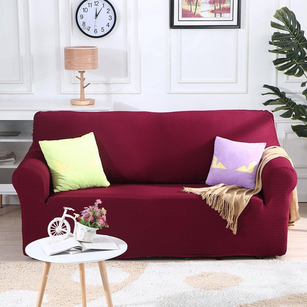 MA&MA Funda de sofá Elástica, poliéster, Color Sólido ...