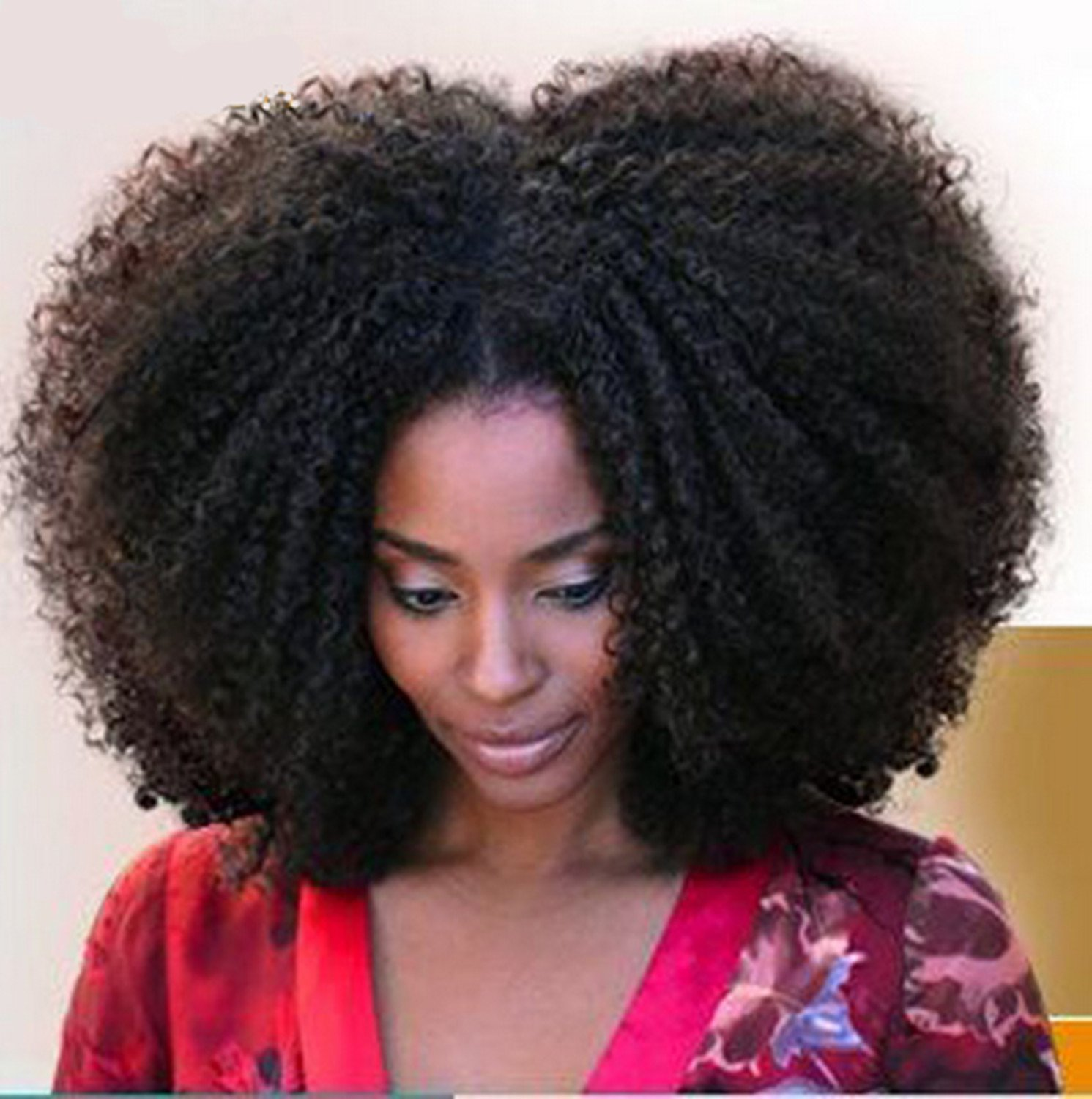 Amazon Cara Hair Unprocessed Virgin Mongolian Afro Kinky Curly