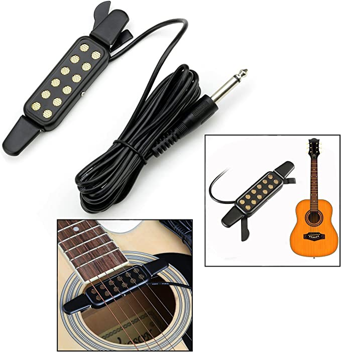 OFKPO Pastilla de Guitarra 12 Orificios para Guitarra Acústica ...