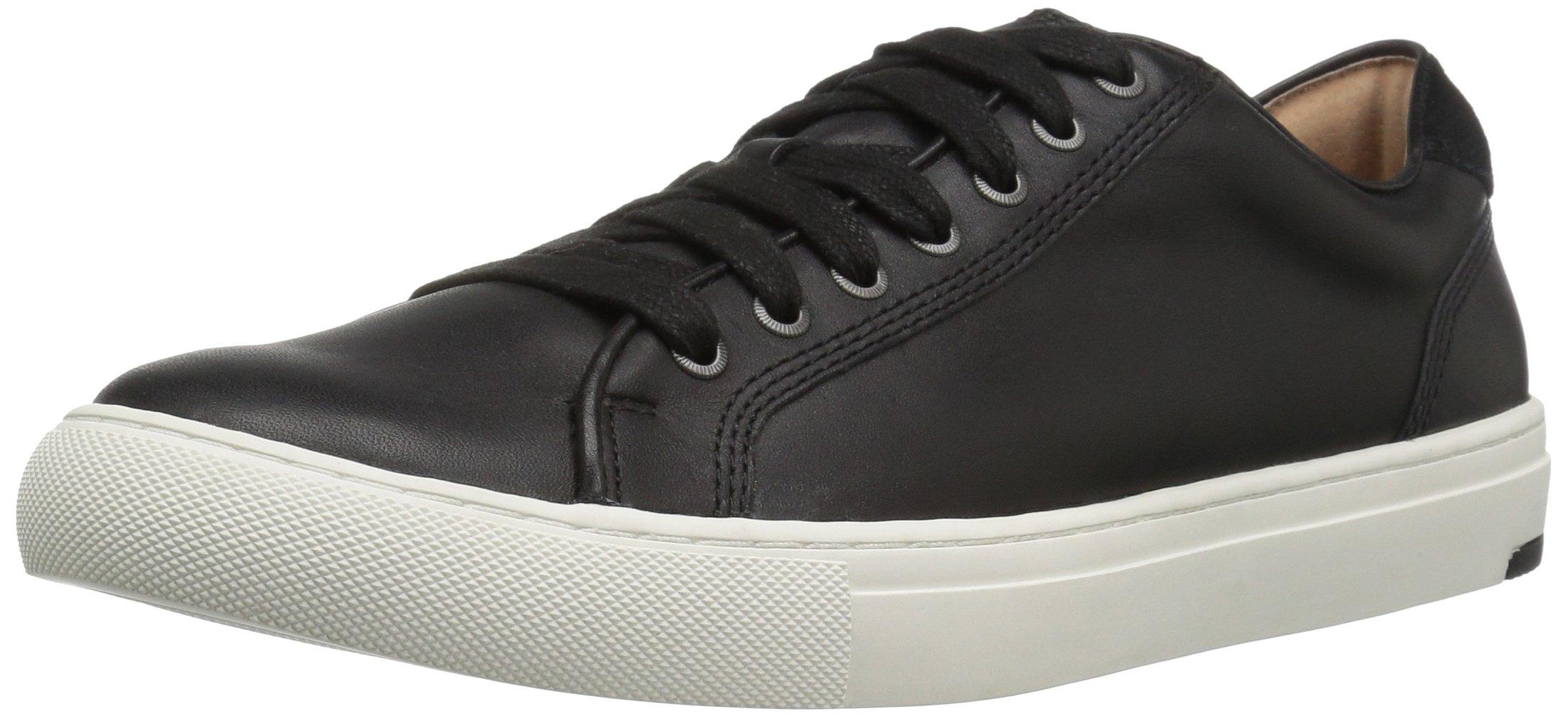 206 Collective Men's Prospect Lace-up Fashion Sneaker, Black, 9 D US
