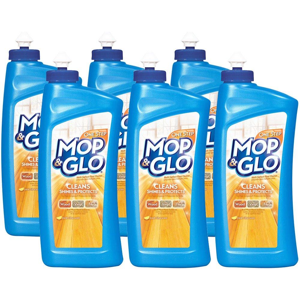 Mop & Glo Multi-Surface Floor Cleaner, 32 fl oz (Pack of 6)