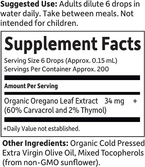 Garden of Life - Mykind Organics Aceite de orégano Seasonal Drops - 1 oz. fl.