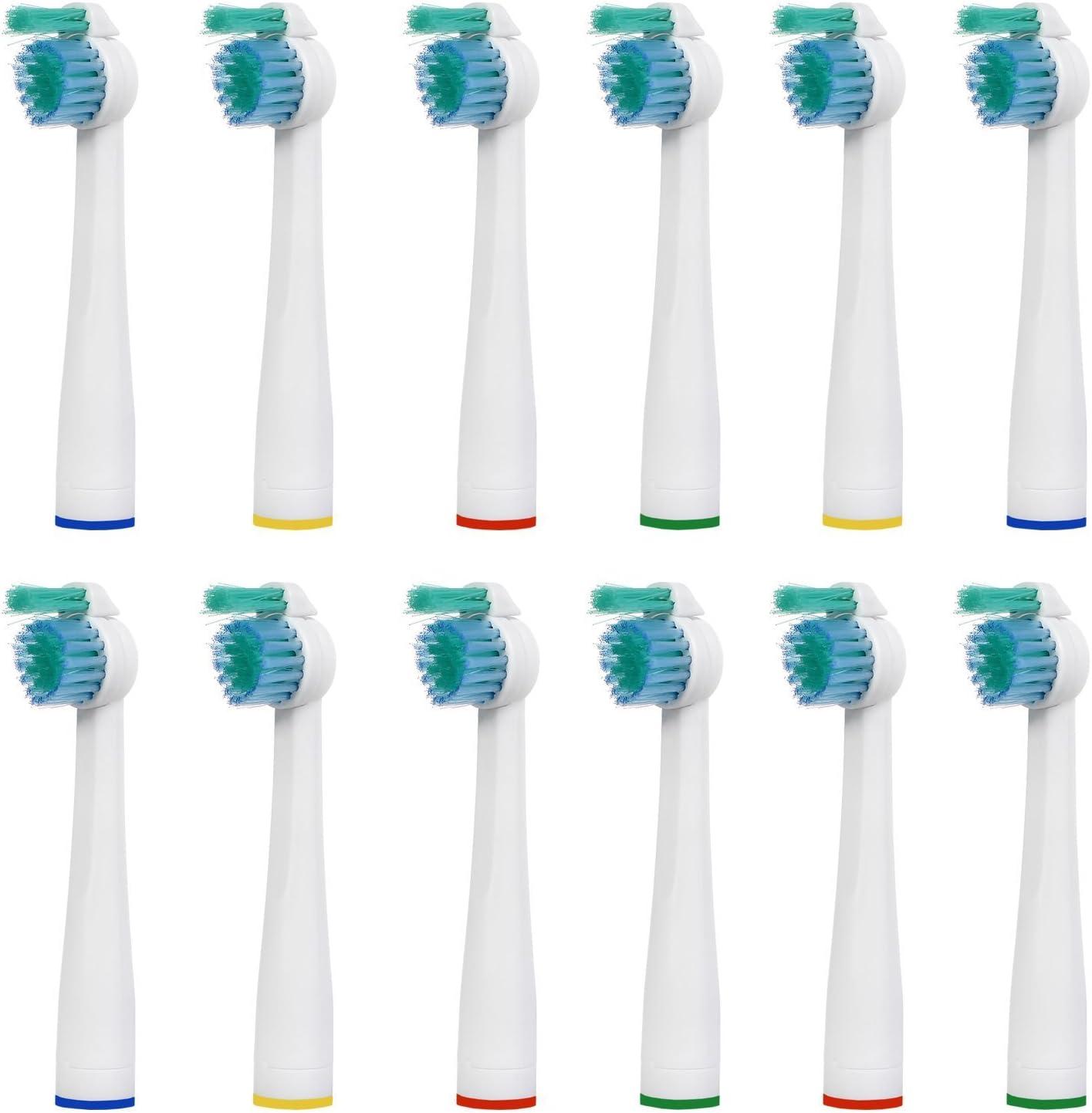 12 uds (3x4) de cabezales de recambio para cepillos de dientes E-Cron®. Totalmente compatibles recambios cabezales con Philips Sonicare Sensiflex recambios.: Amazon.es: Salud y cuidado personal