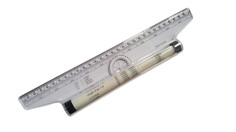 Actopus Rolling Ruler Roller 12 Inch 30CM 4336895617