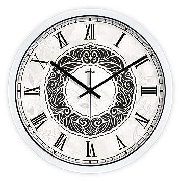 LKOPSLA Espejo Creativo silencioso Minimalista Moderno Reloj de Pared Reloj de Pared Reloj Digital de Decoración para Salón Dormitorios Oficina: Amazon.es: ...