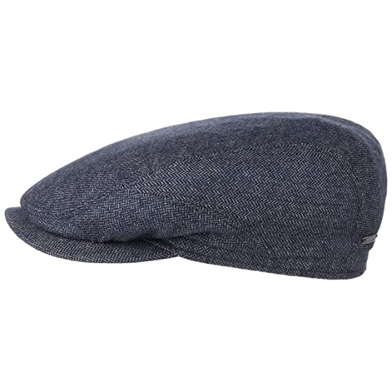 2d85e523f8a Stetson Belfast Cashmere Flat Cap hat  Amazon.co.uk  Clothing