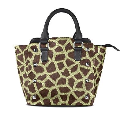 Amazon.com: Para mujer Sexy leopardo bolsos carteras de piel ...