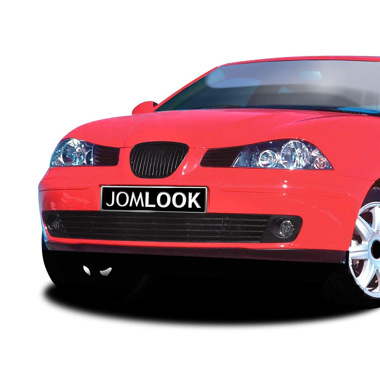 JOM 6L1853653JOE Calandra JOM, Seat Ibiza, 02-, sin emblema, negra: Amazon.es: Coche y moto