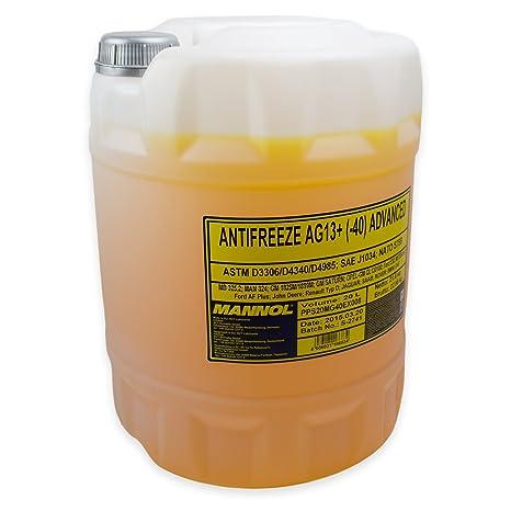 Mannol antifreeze AG13 + de 40 Advanced enfriador Protección ...
