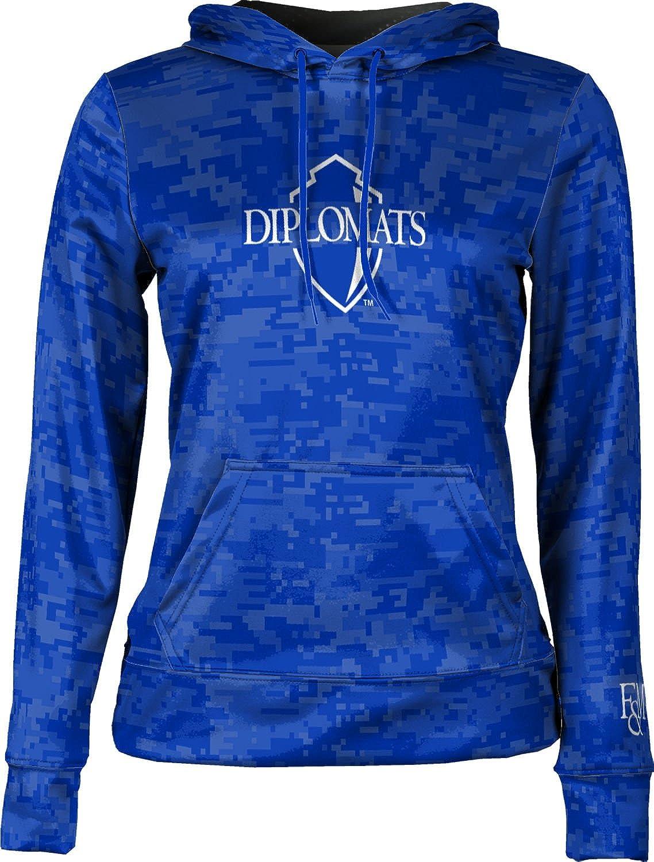 ProSphere Franklin /& Marshall College Girls Pullover Hoodie Digi Camo School Spirit Sweatshirt